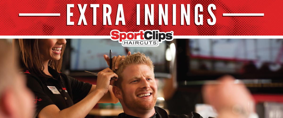 The Sport Clips Haircuts of Sawyer Heights Extra Innings Offerings
